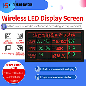 Dual-color LED Ultra-bright Display Screen